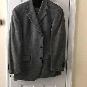 Good condition black/gray suit. Open to offers